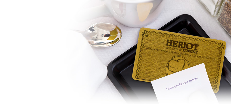 Heriot Catering Gold Card - Discounts for Heriot Customers